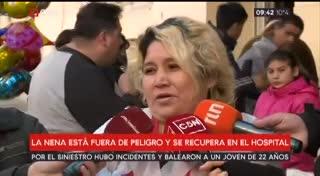 Villa 31: el testimonio de la mamá de la nena atropellada por un policía
