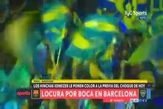 La palabra de Daniel Angelici en la previa de Barcelona-Boca