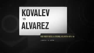 El KO demoledor de Álvarez a Kovalev.