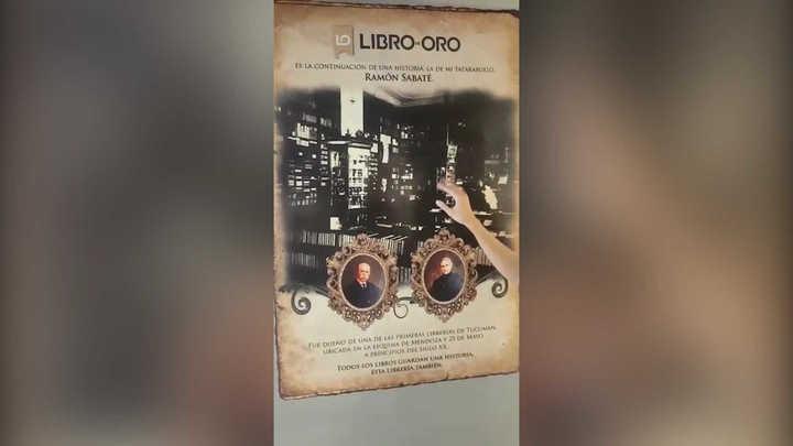 Natalia Viola reabrió en Tucumán la librería que había fundado su tatarabuelo