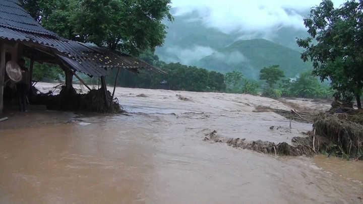 Impactante: así quedó Vietnam tras el paso del tifón Son Tinh