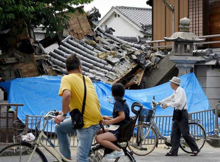 Ya son 4 los muertos por el terremoto en Japón: mirá cómo quedó Osaka