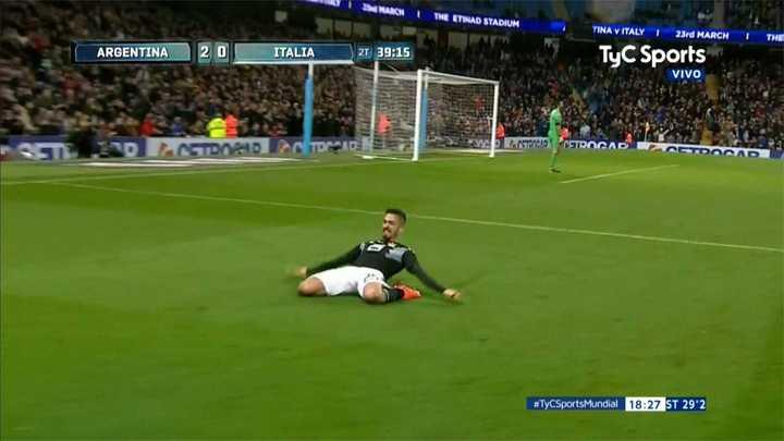 Italia 0 - Argentina 2