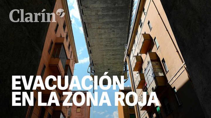 """Génova: desalojo forzado en la """"zona roja"""""""