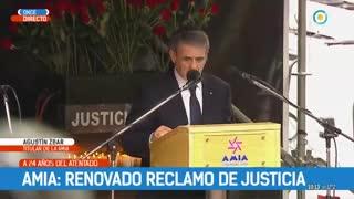 """Agustín Zbar: """"Nisman entregó su vida en la causa AMIA"""""""
