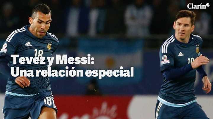 Carlos Tevez y Lionel Messi: la relación especial de dos ídolos muy diferentes