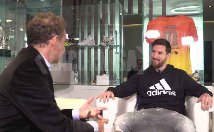 Entrevista a Lionel Messi (parte I)