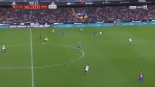 El gol de Rakitic, para definir la serie frente a Valencia. (YouTube)