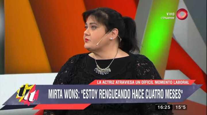 El drama de Mirta Wons