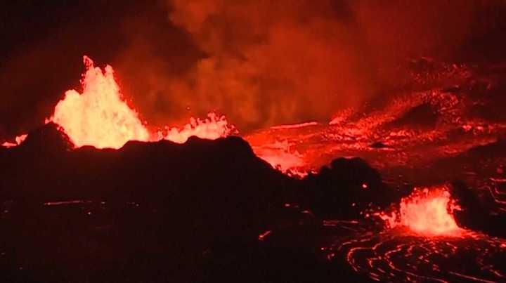 Hawaii: las increíbles imágenes nocturnas del volcán Kilauea