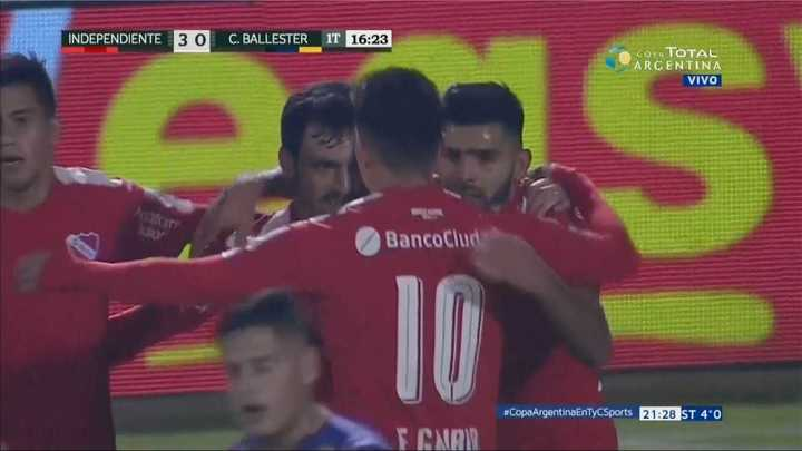 Independiente 3 - Central Ballester 0