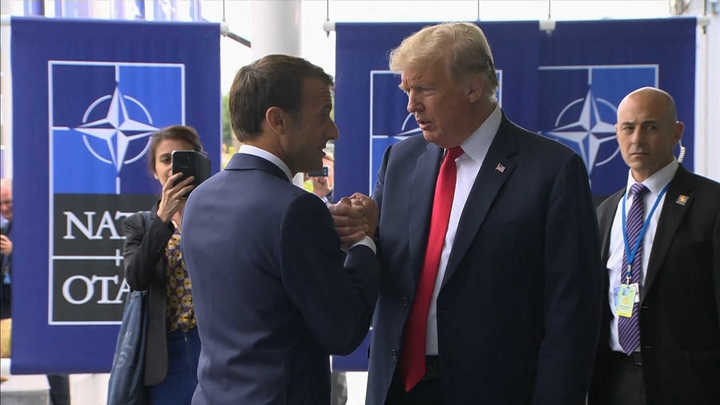 El show de Trump en la OTAN