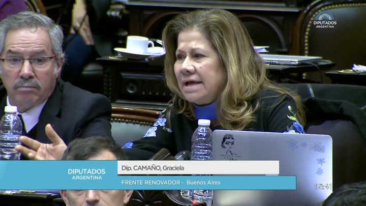 La inesperada defensa de Graciela Camaño a Elisa Carrió