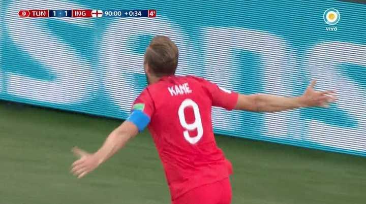 Túnez 1 - Inglaterra 2