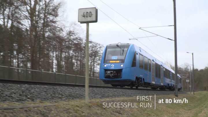 El primer tren impulsado a hidrógeno