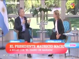 """Macri: """"Los jubilados están cuidados de la inflación"""""""