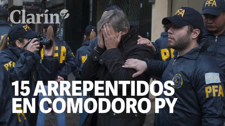 18 días y 15 arrepentidos que pasaron por Comorodo Py