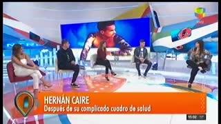 """Hernán Caire relató el duro momento que vivió por una extraña enfermedad en """"Intrusos"""""""