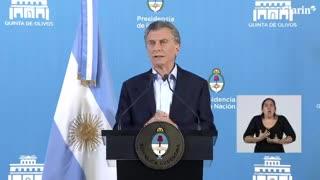 Macri habló sobre el presente del país