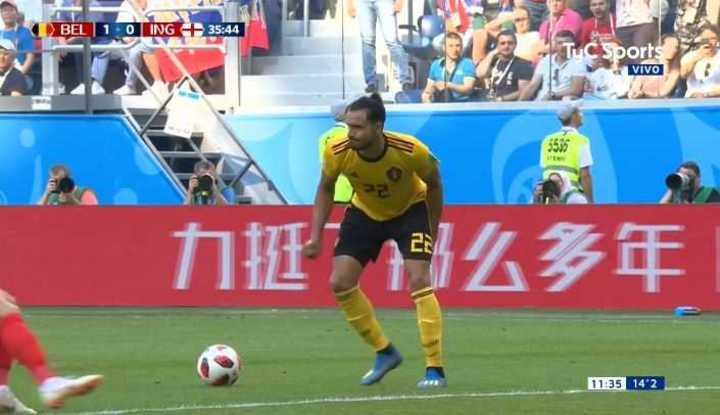 Chadli acusó una molestia - Mundial Rusia 2018