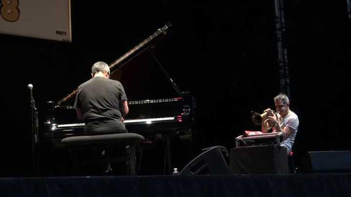 Paolo Fresu con Chano Domínguez