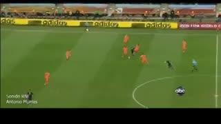 El gol de Iniesta que le valió el título a España en Sudáfrica 2010. (YouTube)