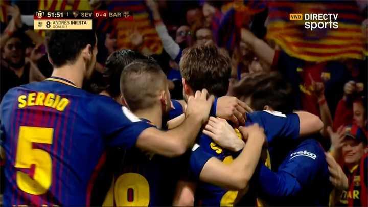 Barcelona 4 - Sevilla 0