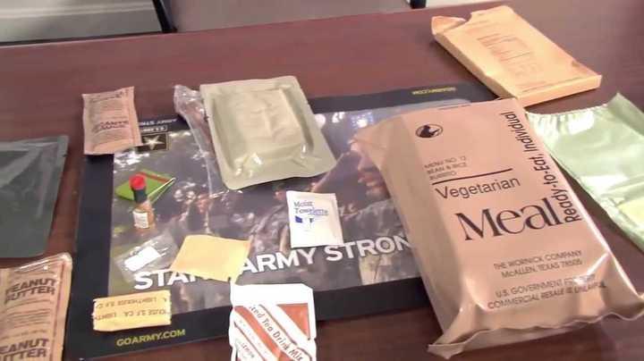 El ejército de Estados Unidos incorporó una pizza que dura tres años a los paquetes de comida de sus soldados