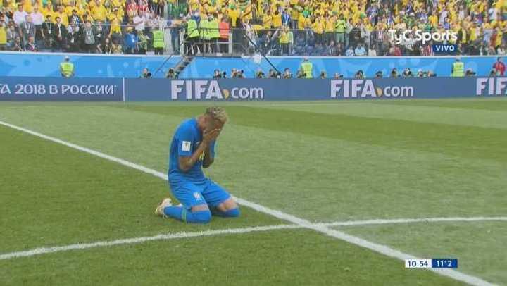El desahogo de Neymar Jr.