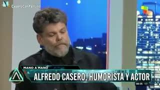 """Alfredo Casero y su metáfora """"¡Queremos flan!"""""""