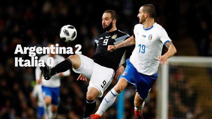 Triunfo de Argentina en el primer amistoso