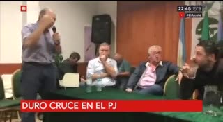 Sergio Berni, contra Gustavo Menéndez