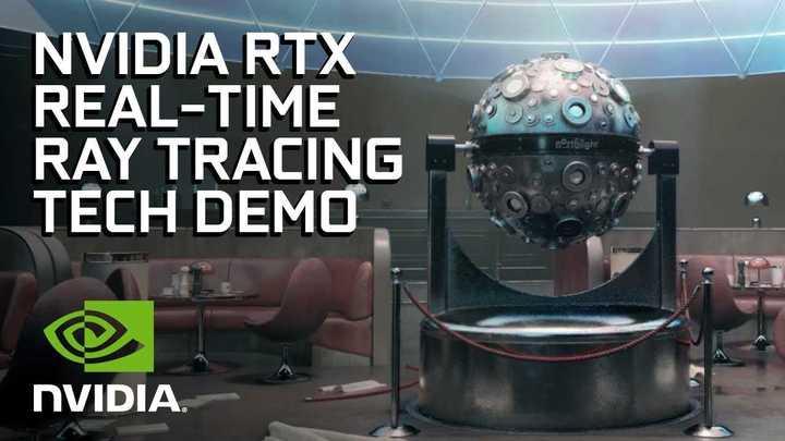 Demo de raytracing de Nvidia