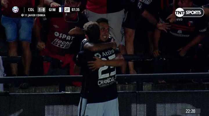 Colón 1 - Gimnasia LP 0