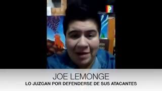 Joe Lemonge pide Justicia