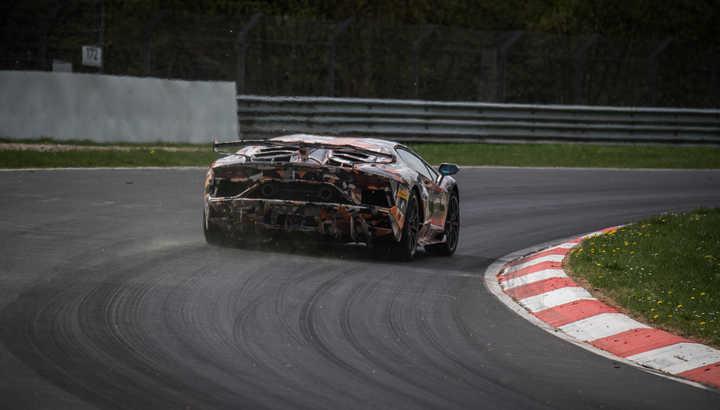 Récord de Lamborghini en Nürburgring