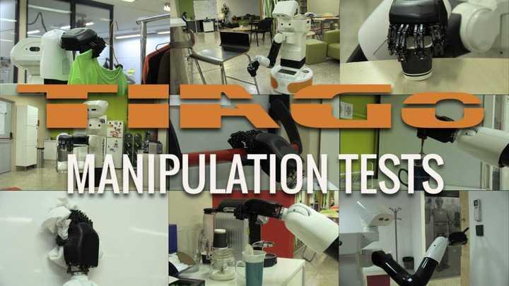 Tests de manipulación de TIAGo