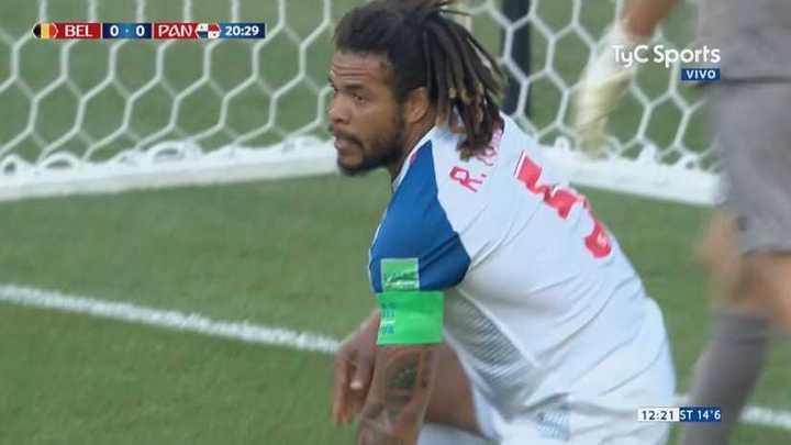 Casi gol en contra de Panamá
