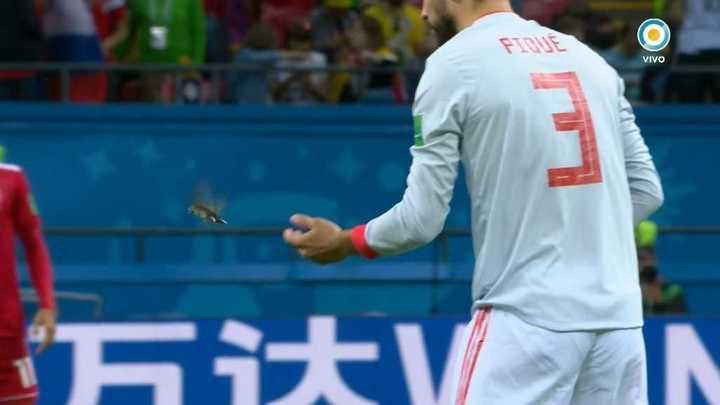 Piqué soltó un pajarito - Mundial Rusia 2018
