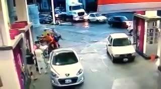 Intentó robar y le dieron una paliza