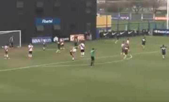 El gol de Agustín Heredia a River en el Superclásico de Reserva