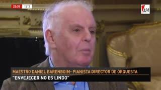 Daniel Barenboim sin filtro - Parte 3. El director y pianista habló con Luis Novaresio y no dejó tema sin abordar.
