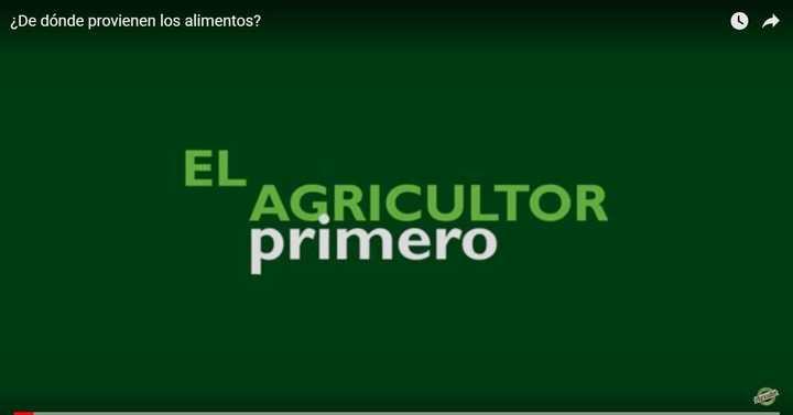 Los agricultores, presentes todos los días