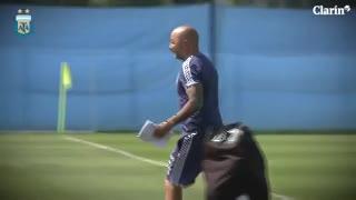 El entrenamiento de Argentina, desde adentro