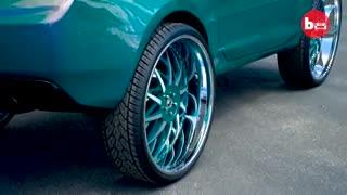 Chevrolet Camaro con ruedas de 32 pulgadas