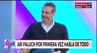 Ari Paluch rompió el silencio en Crónica TV. Parte 1