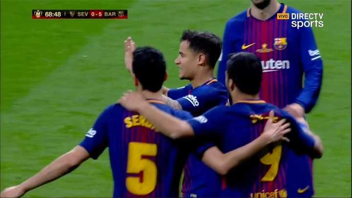 Barcelona 5 - Sevilla 0
