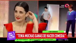 Florencia Torrente y su relación con Adrián Suar