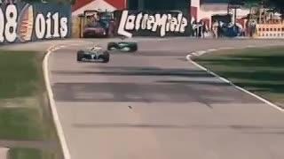 El accidente de Ayrton Senna en el circuito de Imola, en 1994. (YouTube)