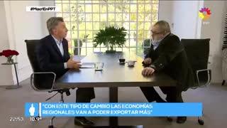 Mauricio Macri con Jorge Lanata 3 (eltrece)